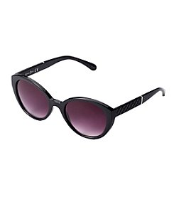 Jessica Simpson Plastic Oval Sunglasses