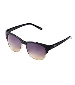 Jessica Simpson Plastic Metal Combo Clubmaster Sunglasses