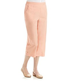 Alfred Dunner® Key Largo Solid Pull On Capri