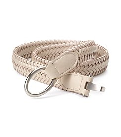 Fashion Focus Braided Stretch Interlock Belt