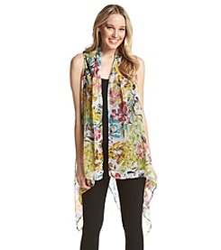 Basha Tropical Flower Vest