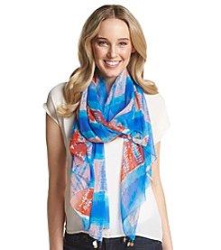 BCBGeneration™ Tie Dye Chiffon Scarf