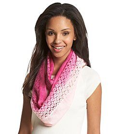 Collection 18 Ombre Crochet Loop Scarf