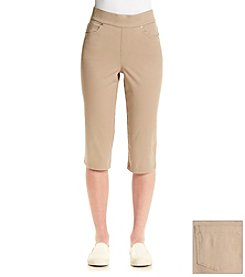 Gloria Vanderbilt Avery Pull On Skimmer Capri
