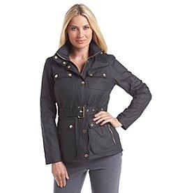 MICHAEL Michael Kors® Belted Stashable Hood Anorak Jacket
