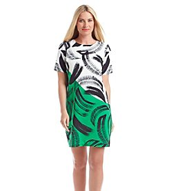Vince Camuto® Artful Strokes Dress