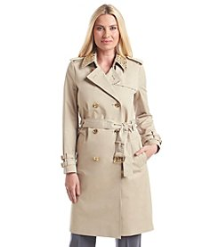 MICHAEL Michael Kors® Encrusted Collar Trench Coat