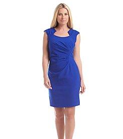 Calvin Klein Horseshoe Neck Sheath Dress