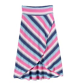 Amy Byer Girls' 7-16 Hi Low Maxi Skirt