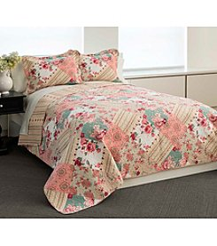 Chelsea Home Multi Patch Quilt Set