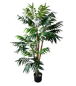 Pure Garden 5' Indoor/Outdoor Romano Tropical Palm Tree