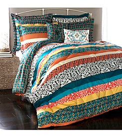 Lush Decor Boho Stripe 7-pc. Comforter Set