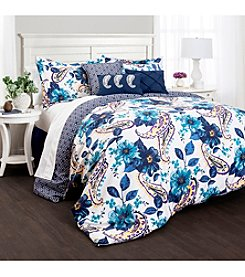 Lush Decor Floral Paisley 7-pc. Comforter Set