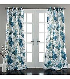 Lush Decor Floral Paisley Room Darkening Window Curtain