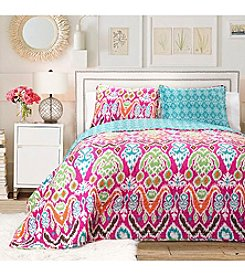 Lush Decor Jaipur Ikat 3-pc. Quilt Set