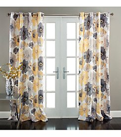 Lush Decor Leah Room Darkening Window Curtain