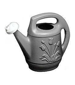 Bloem 2-Gallon Peppercorn Promo Watering Can with Rotating Nozzle