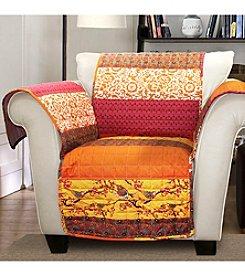 Lush Decor Royal Empire Tangerine Chair Slipcover