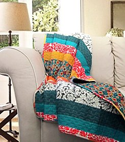 Lush Decor Boho Stripe Throw
