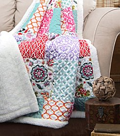 Lush Decor Brookdale Sherpa Throw
