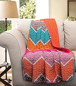 Lush Decor Everlyn Chevron Throw