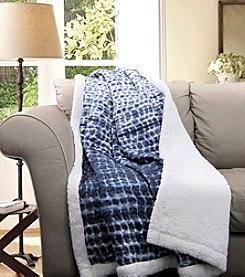 Lush Decor Pebble Creek Sherpa Throw