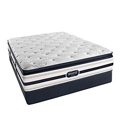 Beautyrest® Recharge® Alivia Plush Pillow-Top Mattress & Box Spring Set