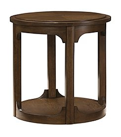 Hammary Facet Round End Table
