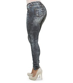 Poetic Justice® Madison Mid-Rise Skinny Jeans