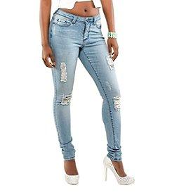 Poetic Justice Madison Mid-rise Skinny Jean