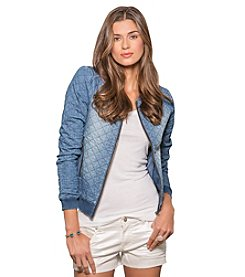 standards & practices Nancy Quilted Bomber Jacket