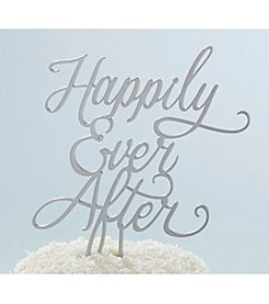 Kate Aspen Classic Happily Ever After Cake Topper