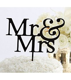 Kate Aspen Mr. and Mrs. Cake Topper