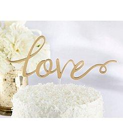 Kate Aspen Love Cake Topper