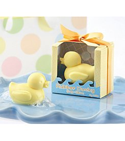 Kate Aspen Set of 12 Rubber Ducky Soaps