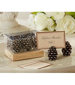 Kate Aspen Set of 12 Pinecone Place Card/Photo Holders