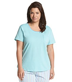 KN Karen Neuburger Plus Size Lounge Shirt