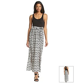 Fire® Zig Zag Maxi Dress