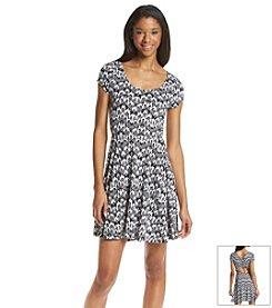 Fire® Blurred Skater Dress