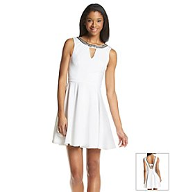 XOXO® Beaded Swing Dress