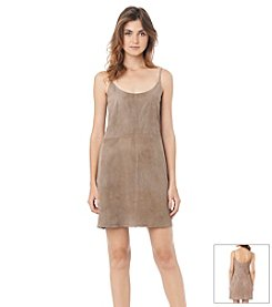 Sam Edelman™ Faux Suede Slip Dress