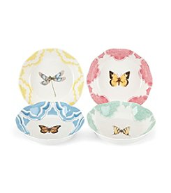 Lenox® Butterfly Meadow® Set of 4 Fruit Bowls