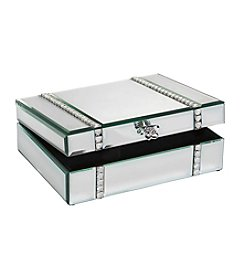 Crystal Clear® Flower Knob Jewelry Box