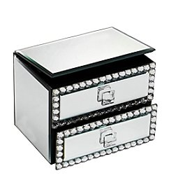 Crystal Clear® Jewel 2-Drawer Jewelry Box