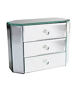 Crystal Clear® Octagon 3-Drawer Jewelry Box