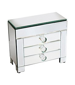 Crystal Clear® 3-Drawer Jewelry Box With Lid