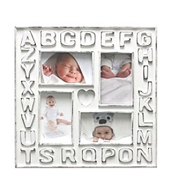 Fetco® 4-Opening Alphabet Collage Frame
