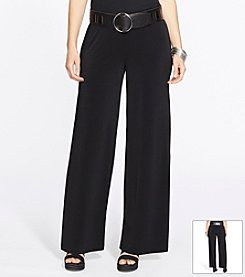 Lauren Ralph Lauren® Plus Size Wide-Leg Jersey Pants