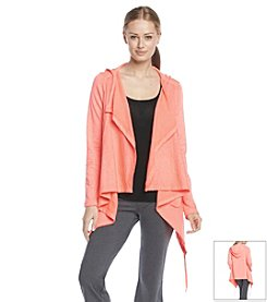 Calvin Klein Performance Hooded Flyaway Cardigan