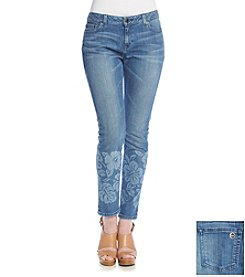 MICHAEL Michael Kors® Print Skinny Jeans